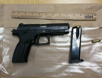 Handgun, revolver and drugs discovered during searches in Dublin