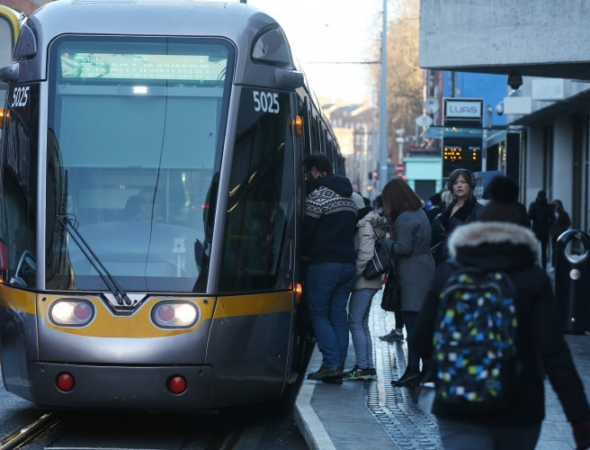 Luas Green Line to only run partial service on Thursday