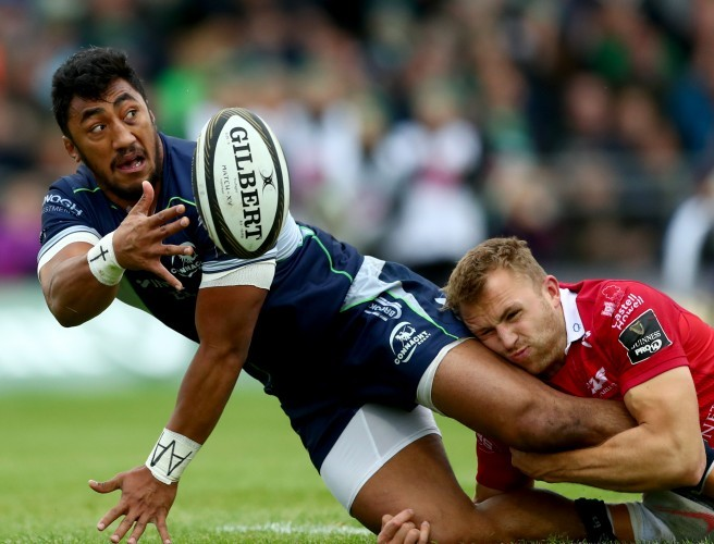 Jack Carty pays tribute to Bundee Aki as Connacht down Scarlets