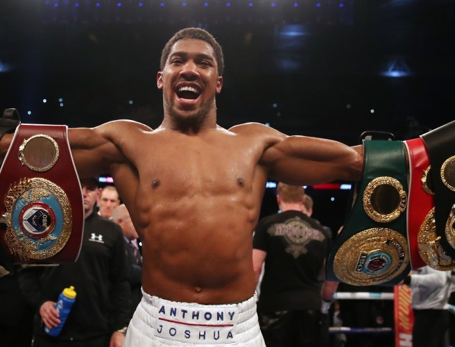Who should Anthony Joshua fight next?