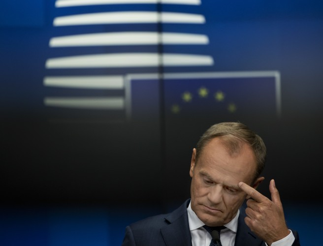 "Donald Tusk: ""No grounds for optimism"" on Brexit breakthrough"