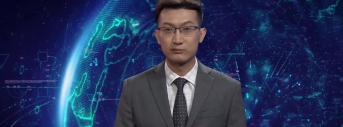 WATCH: The world's first AI news anchor makes debut in China
