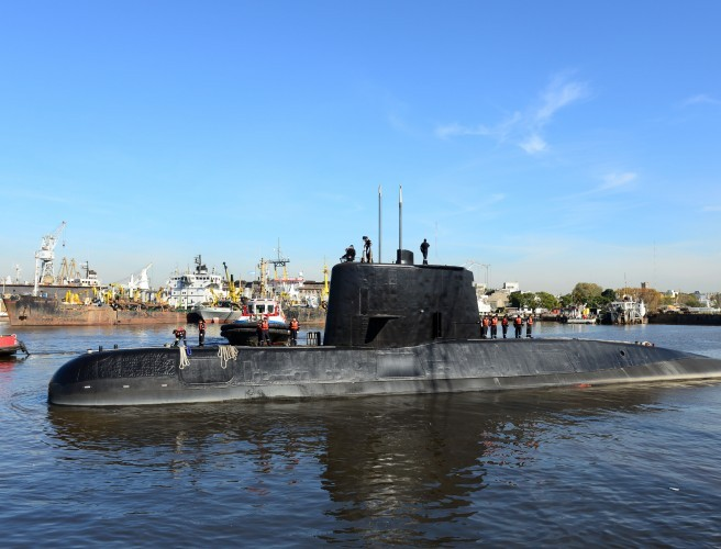 Argentina submarine found on Atlantic seabed a year after it went missing