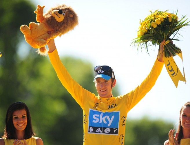 Bradley Wiggins in happier times