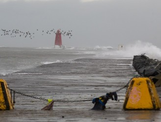Status Orange warning remains in place for four counties as Storm Deirdre lands
