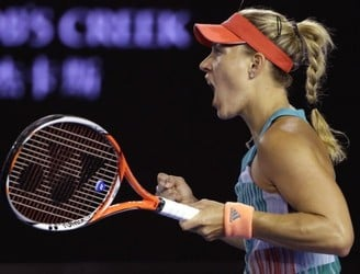 Angelique Kerber defeats Serena Williams to seal first Grand Slam title at Australian Open