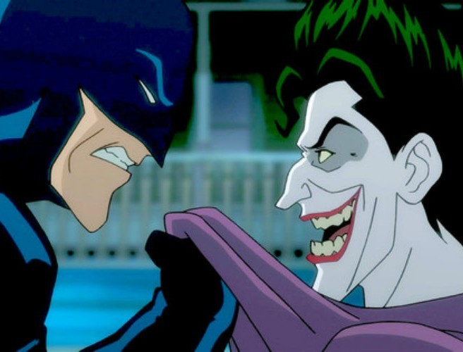 "WATCH: 10-minute preview of animated Batman movie ""The Killing Joke"""