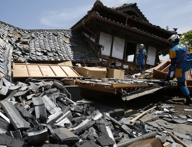 At least 19 people dead after major earthquake hits Japan