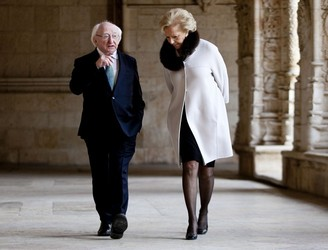 President Higgins calls on Europeans to show compassion to those afflicted by the migrant crisis