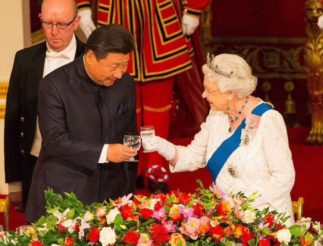 "WATCH: Queen Elizabeth recorded calling Chinese officials ""very rude"""