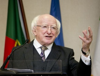 'When I began entering politics, we were free to discuss this' - President Higgins on the housing crisis