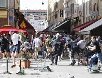 Six Britons, three Frenchmen and one Austrian to be tried over Euro 2016 violence