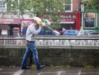 Tuesday's weather: Cloudy as showers become widespread this afternoon