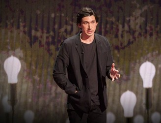 WATCH: 'Star Wars' actor Adam Driver gives TED talk on journey from marine to performer