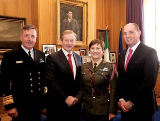 Ireland's first female colonel says there's no glass ceiling in Defence Forces