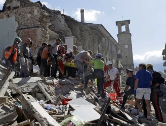 "Grief and shock after Italy earthquake: ""There's nothing left. I don't know what we'll do"""