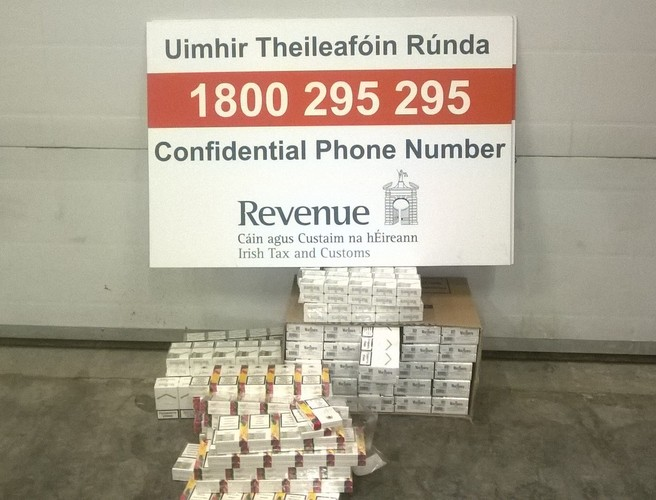More than 18,000 cigarettes from Bulgaria and Ukraine seized in Dublin and Limerick