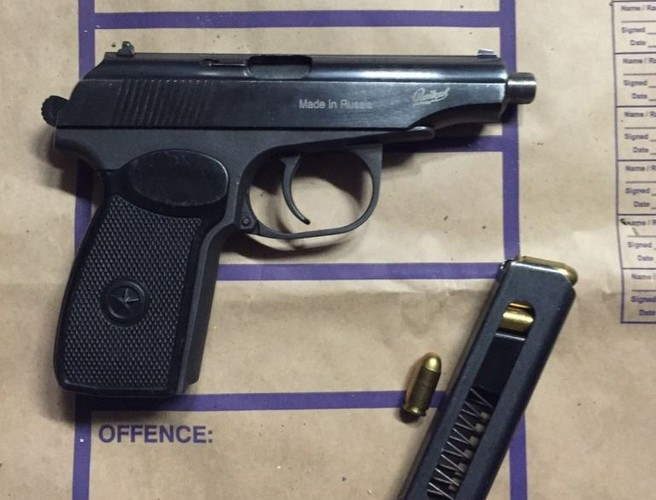 Russian-made handgun and ammunition seized in north Dublin