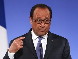 Francois Hollande warns Brexit talks must end by 2019