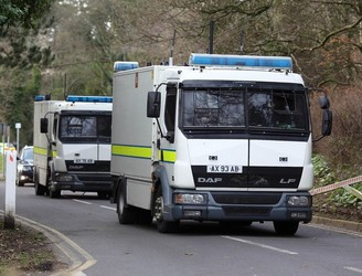 Explosive devices 'linked to dissident republicanism' found in Larne