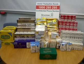 Man and woman arrested after seizure of two cars and over 12,700 cigarettes in Cork