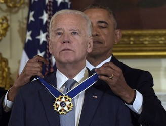 WATCH: Barack Obama awards Joe Biden the Presidential Medal of Freedom