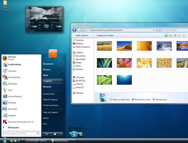 pages for windows 7