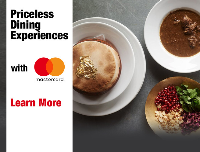 Moncrieff's Meal Ticket with Mastercard