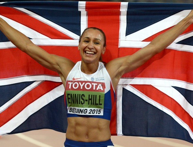 Olympic champion Jessica Ennis-Hill shrugs off Tyson Fury's sexist comments