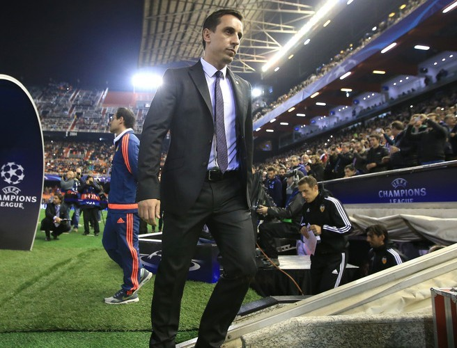 Gary Neville responds to rumours that he might take over at Old Trafford