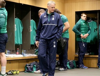 No team who has drawn a test match has won the Six Nations - Joe Schmidt reacts