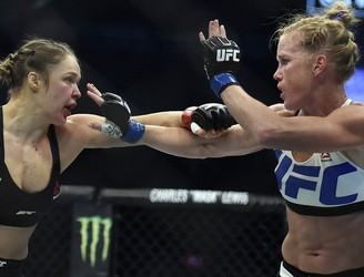 WATCH: Holly Holm has a very rational response to Ronda Rousey's belief that she's ''undefeated''