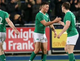 GALLERY: Ireland U20's squeeze through to victory against Italy