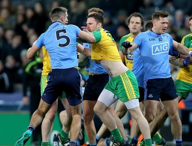 Jim Gavin unhappy with suggestions of eye gouging with James McCarthy