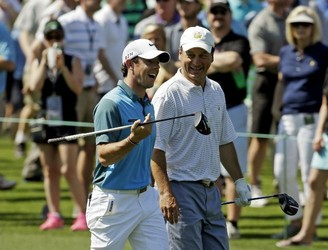 Who is the amateur who gets to pair up with the pros at Augusta?