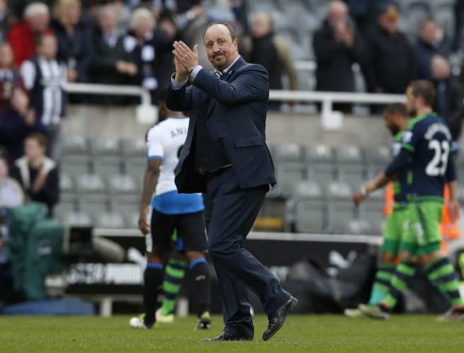 Rafa Benitez could stay on as Newcastle manager following 'positive' talks