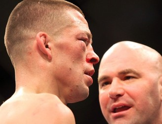 Nate Diaz apparently stormed out of a meeting with Dana White regarding a rematch with Conor McGregor