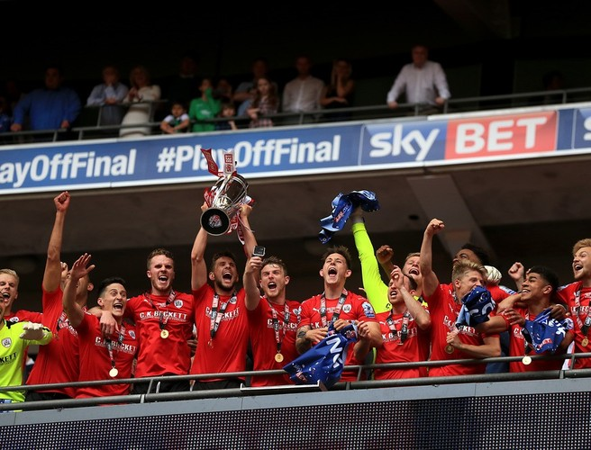 Barnsley promoted back to the Championship following play-off victory
