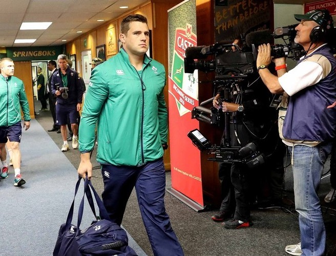 Ireland to appeal 'harsh' CJ Stander sending off