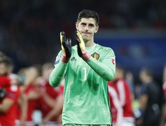 Courtois points finger at Wilmots as Belgium fans applaud Wales into the semi-final