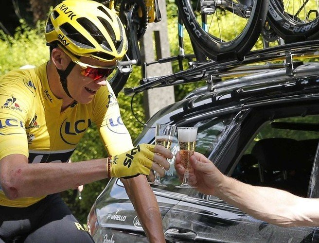 Chris Froome on his way to making history as third Tour de France victory looms