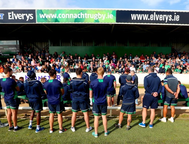 Connacht Rugby announce additional seating at the Sportsground for upcoming season