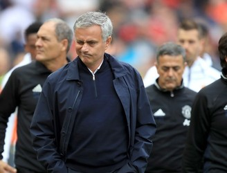 Jose Mourinho slams referee for not awarding 'two penalties' in Manchester Derby