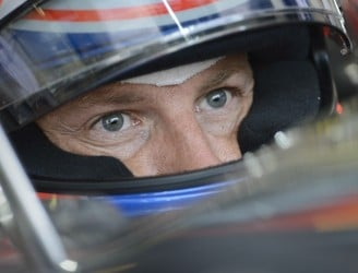 Jenson Button receives standing ovation after suspension failure forces him out of Grand Prix