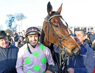 Joy for Ruby Walsh and Willie Mullins at Leopardstown