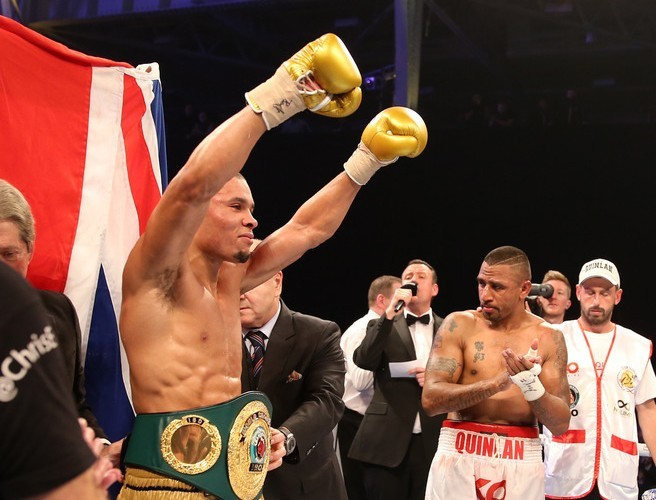 Chris Eubank Jr wins super-middleweight title